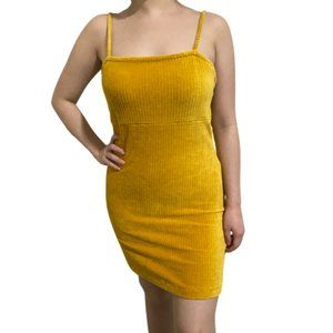 3/$25 Wild Fable Yellow Soft Ribbed Bodycon Dress
